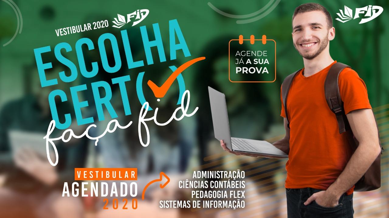 Vestibular 2020 FID Faculdades