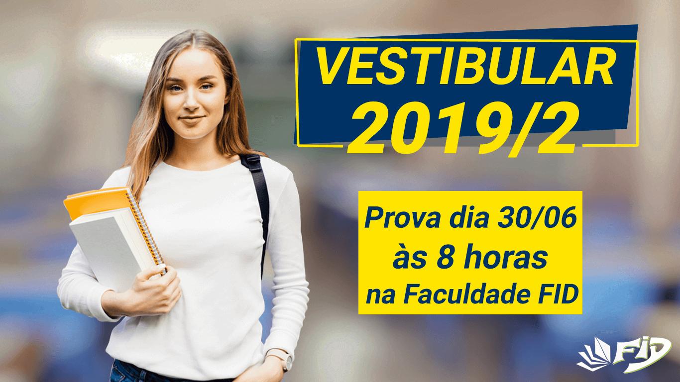 Vestibular Faculdade FID 2019/2